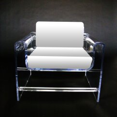 Lucite Acrylic Chairs Personalized Childs Rocking Chair New Upholstered Lounge Added To Aaron R Thomas Online Boutique The Monroe