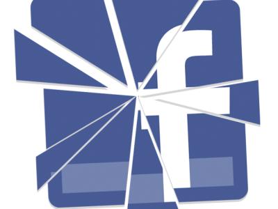 shattered facebook logo