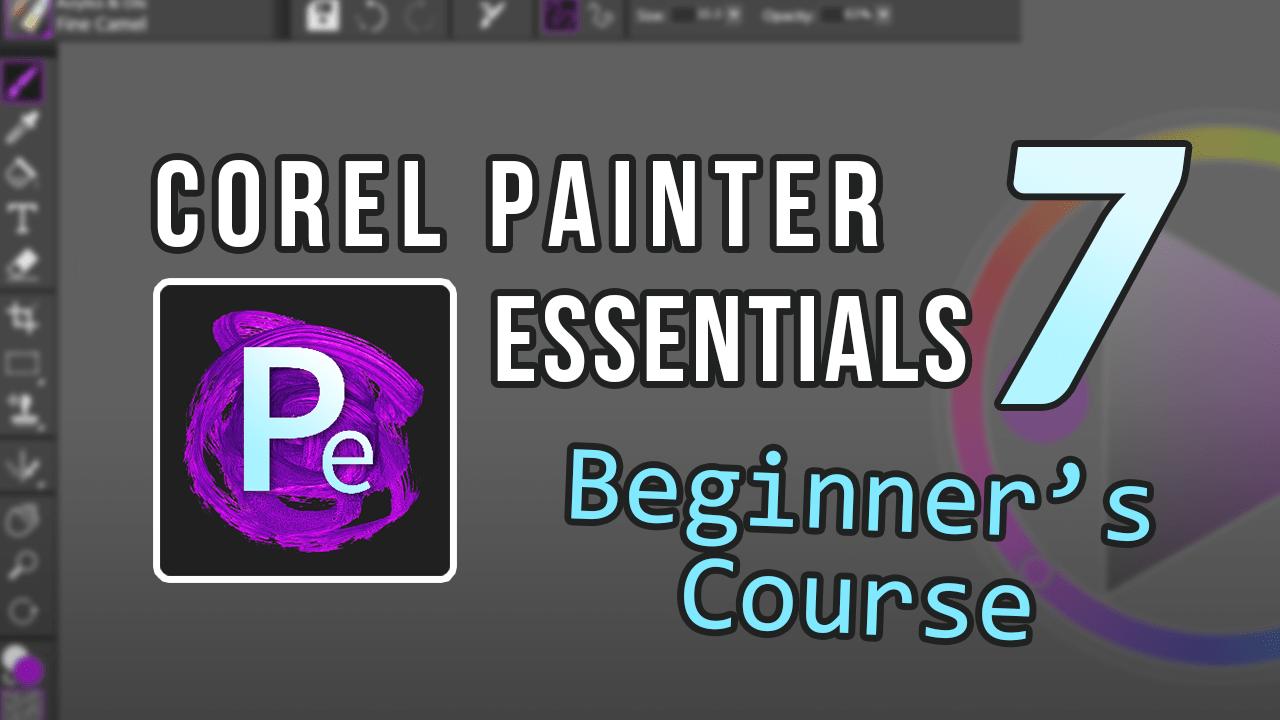 corel painter essentials 7 course