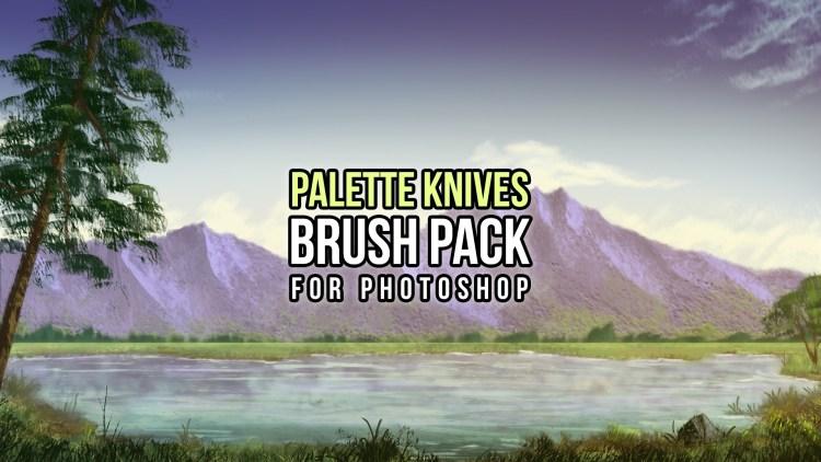 photoshop palette knives brush pack