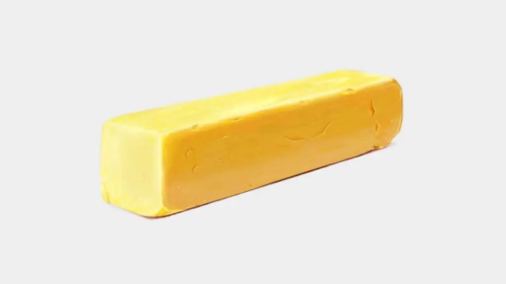 photorealistic illustration of butter