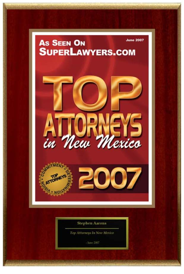 2007 Top Lawyers Superlawyers