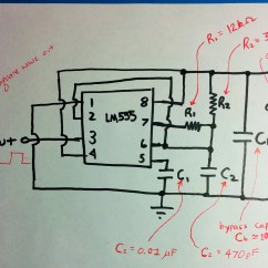 555 Timer Wiring Diagram French Telephone Socket Em Experiment 2 Exploring The Bypass Capacitor