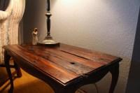 Refurbished Rustic Table   Aaron Simcik Painting