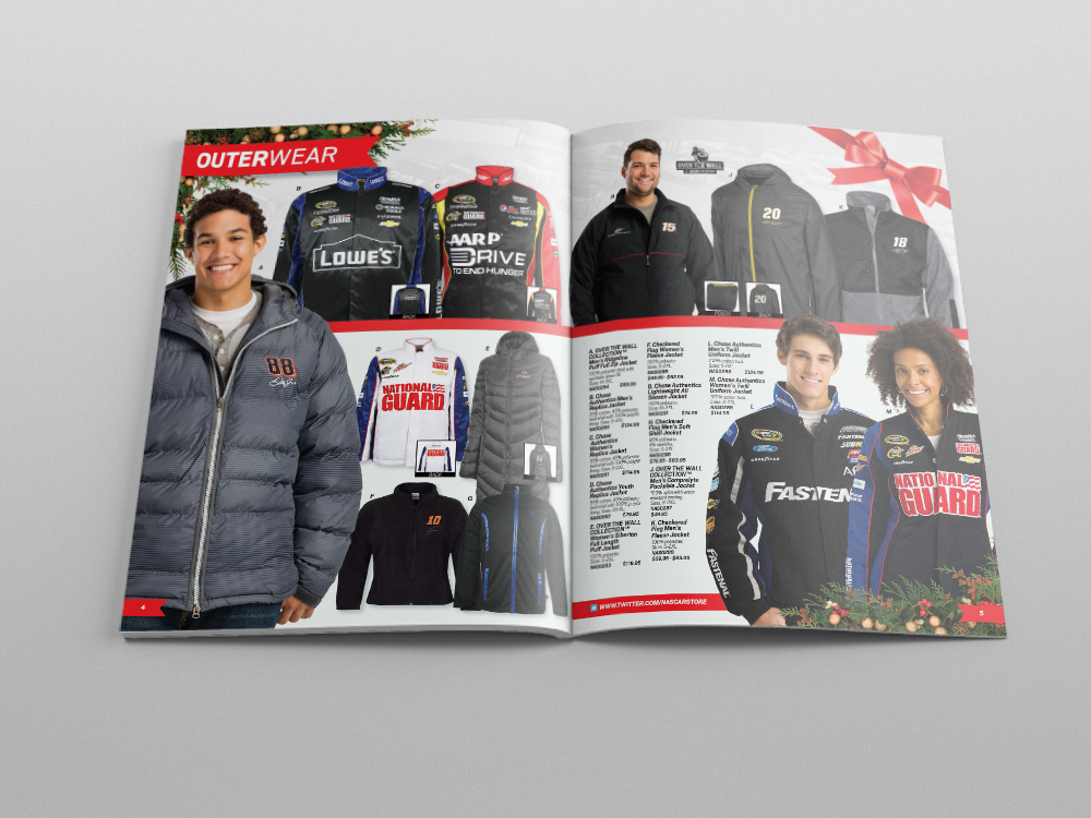 Store.NASCAR.com Holiday 2013 Catalog – Pages 04/05