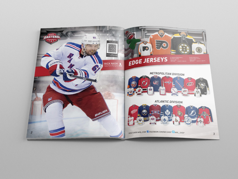 Shop.NHL.com Holiday 2014 Catalog – Pages 02/03