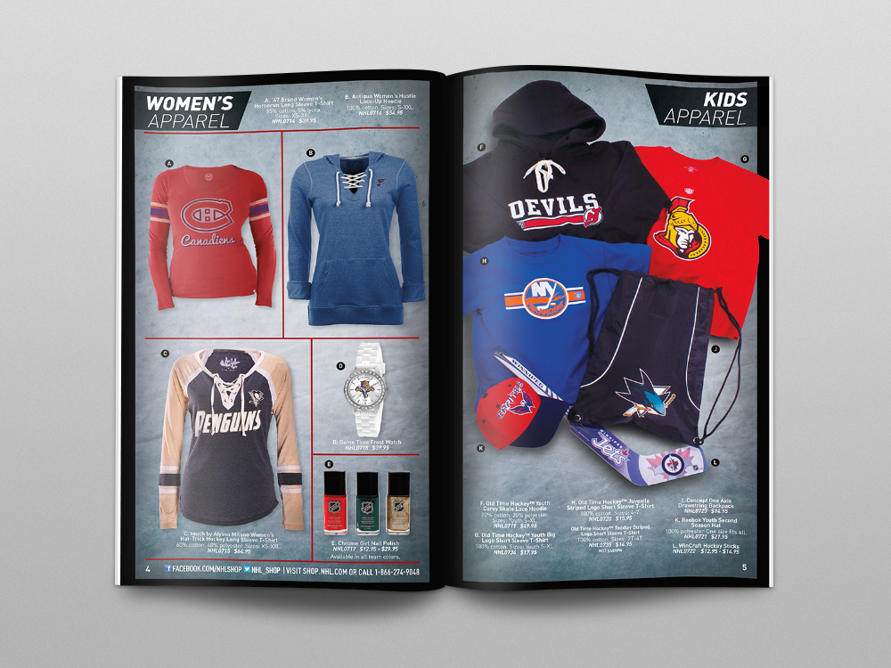 Shop.NHL.com 2014 Catalog – Pages 04/05