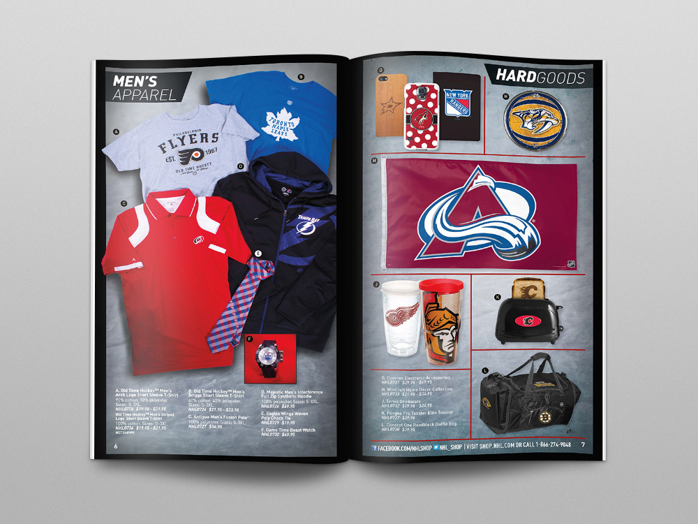 Shop.NHL.com 2014 Catalog – Pages 06/07
