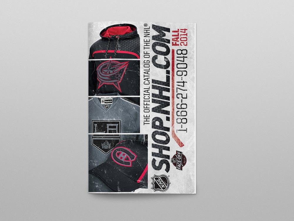 Shop.NHL.com 2014 Catalog – Cover