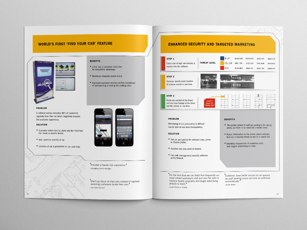 Park Assist Brochure – Pages 06/07