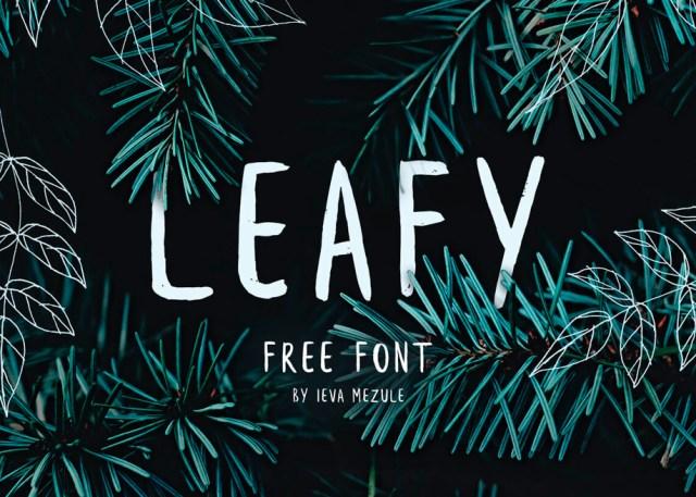 leafy-font