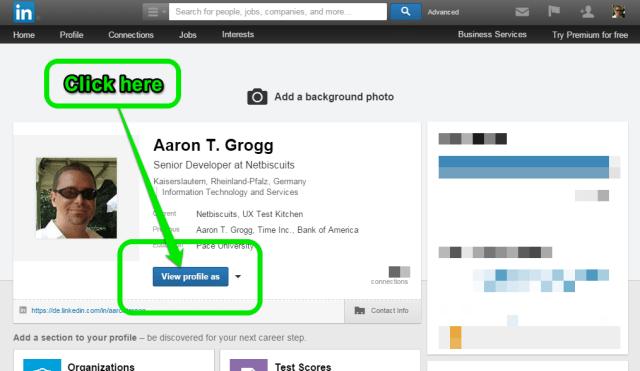 LinkedIn Chrome Extension instructions, step 1
