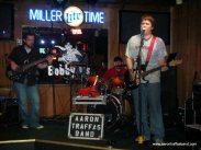 Aaron Traffas Band plays at Bobby T's in Manhattan