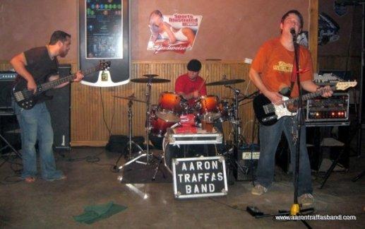 Aaron Traffas Band ag rock with Anthony Farrar in Kiowa Kansas
