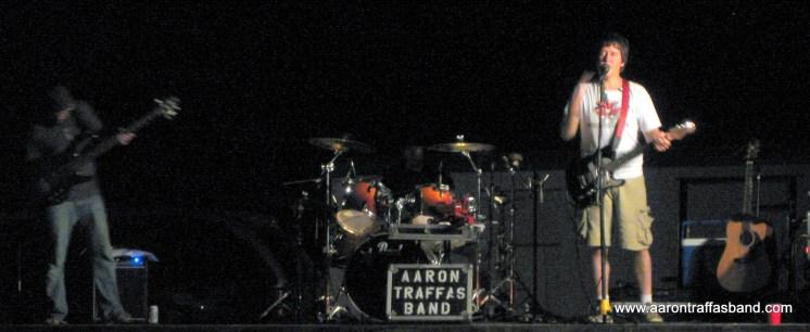 Aaron Traffas Band in Lawrence, Kansas