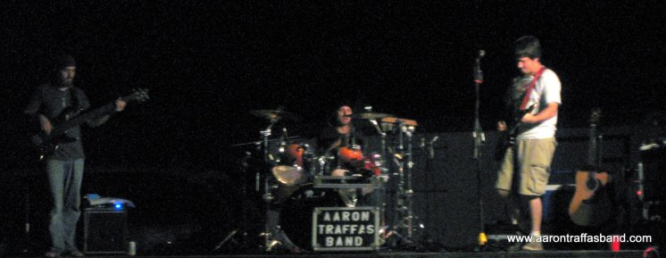 Aaron Traffas Band in Lawrence, Kansas