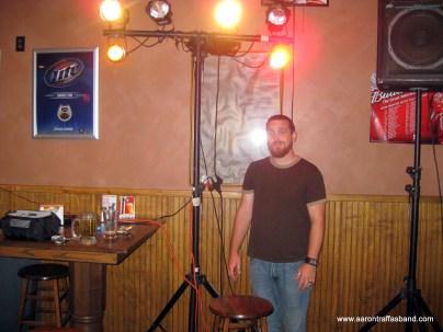 Randy under the lights