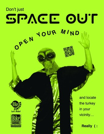 Space Out Flyer
