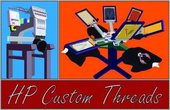 HP Custom Threads Machines