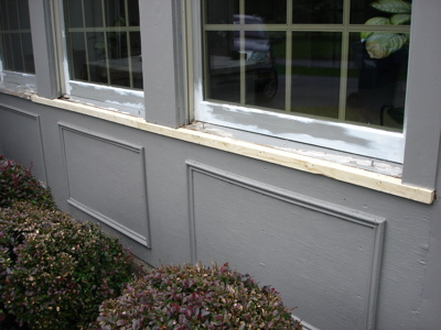 Window Sill Replacement
