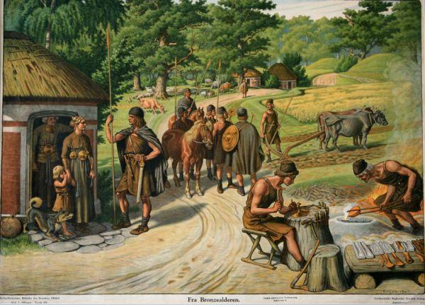 Indvandring og globalisme - i bronzealderen