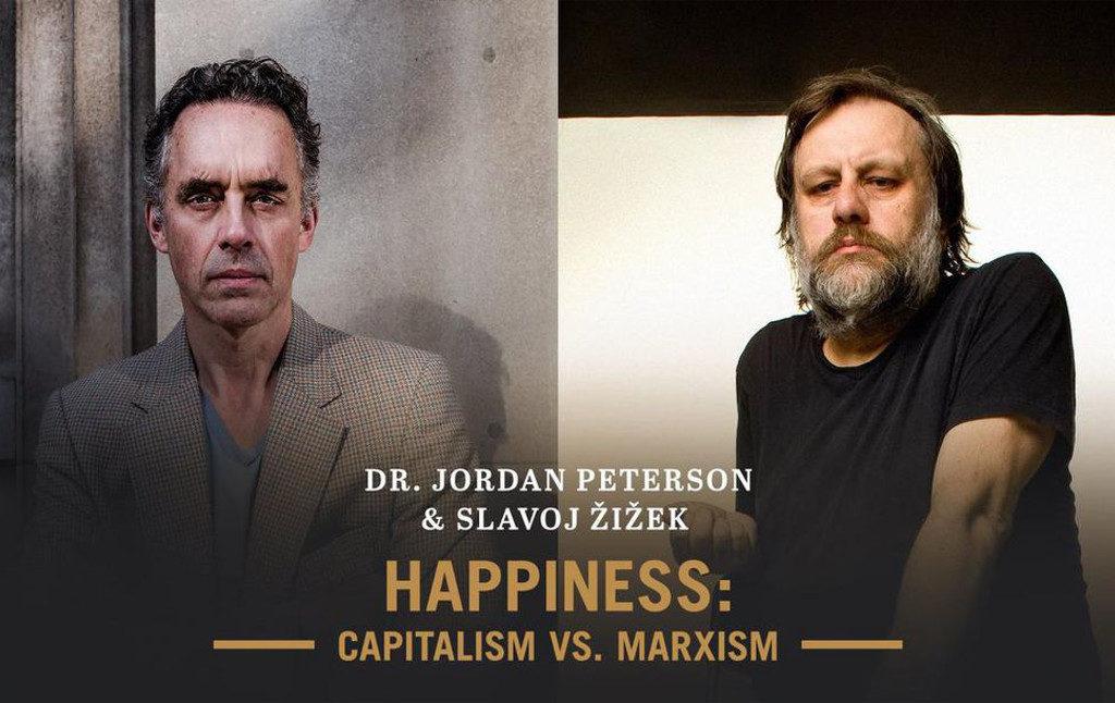 """""""Jordan Peterson vs. Slavoj Zizek"""" eller """"At lære  hinanden at kende foran 3000 tilskuere"""""""