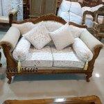 Wood Sofa Set Designer Living Room Furniture Yt 134