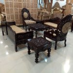 Teak Sofa Set Top Quality Wood Sf 0060