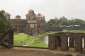 Jahaz Mahal emerging from the water
