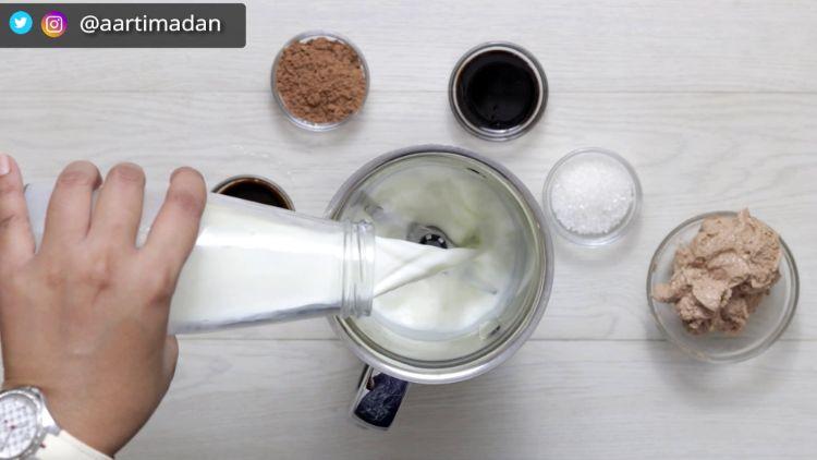 how to make chocolate cold coffee