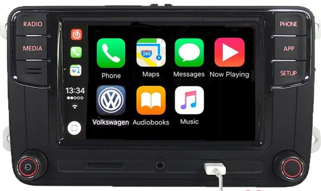 apple carplay radio autoradio dab+