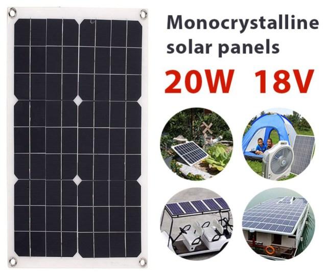 20W zonnepaneel goedkoop