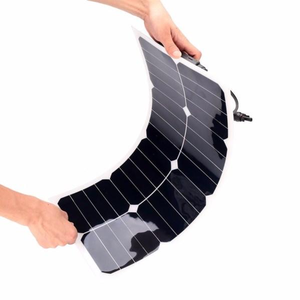 25w flexibel zonnepaneel