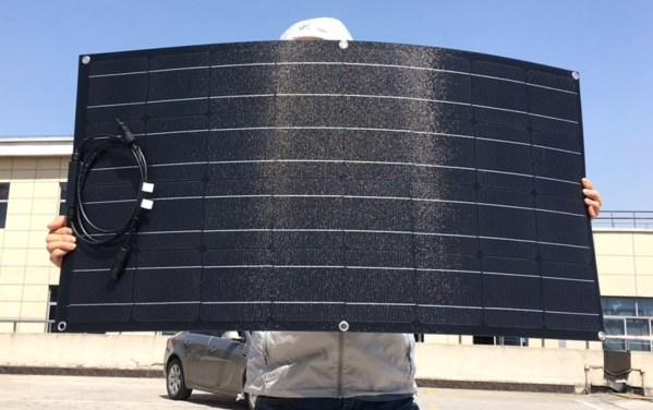 ETFE zonnepaneel 100W