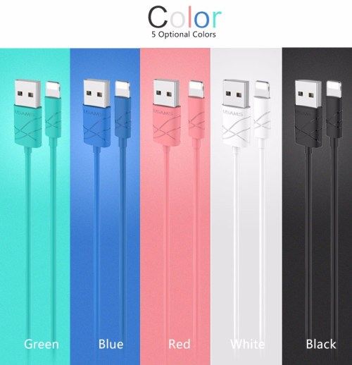 iphone kabel kleurtjes