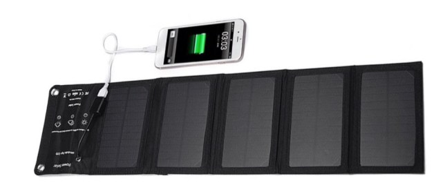 zonnepaneel opvouwbaar portable