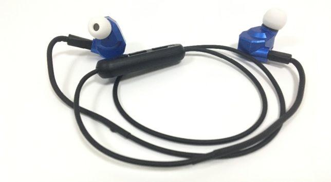 KZ ZS5 met Bluetooth kabel, zodat je meteen ook een draadloze headset hebt.