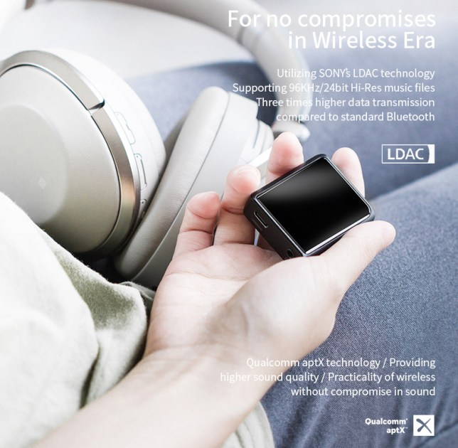 Shanling M0 review DAP digital Audio player USB-C Bluetooth