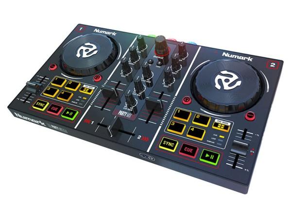 numark party mix midi controller spotify dj