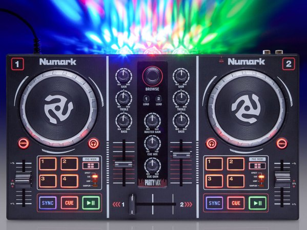 Numark party mix review usb dac midi controller DJ Mac
