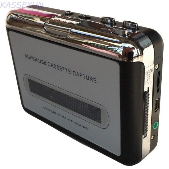 walkman muziekcassettes digitaliseren USB cassette speler
