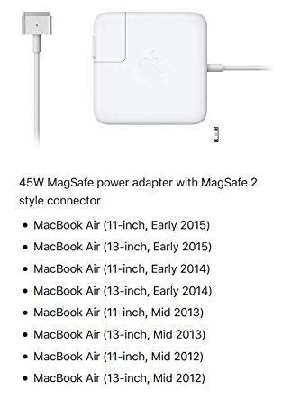 MacBook MagSafe 2 adapter en accu batterij vervangen