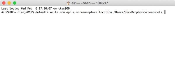 Standaard map of lokatie van screenshots veranderen op Mac OS met de Terminal