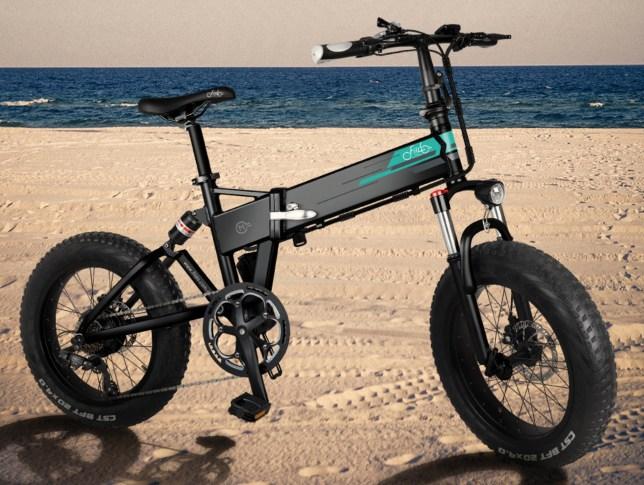 fatbike elektrische vouwfiets dikke banden vering