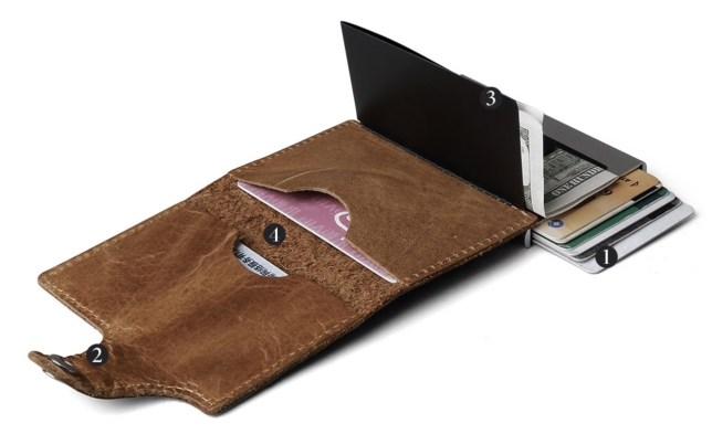 Bescherm pinpasRFID-blocking hoesje antidiefstal portemonnee