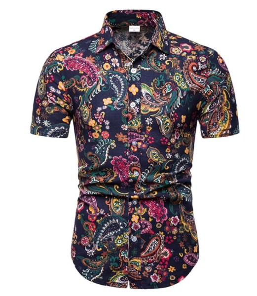 paisley shirt goedkoop zomer korte mouw 2019