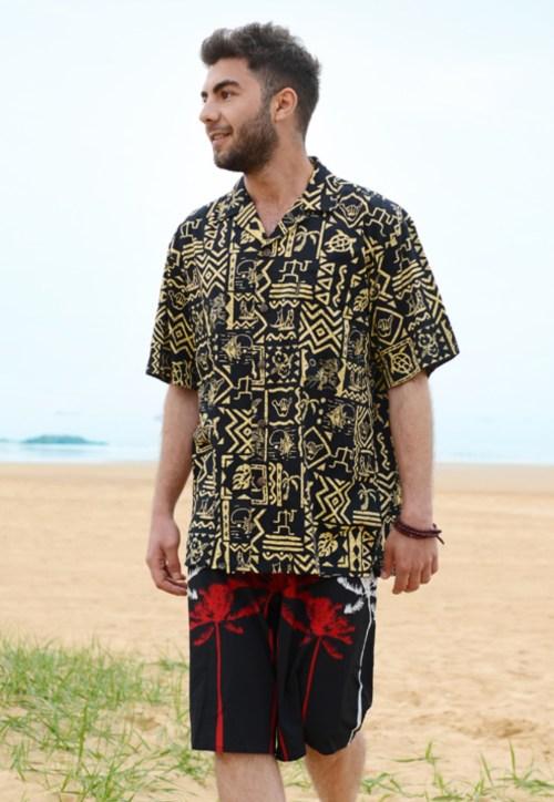 katoen Hawaii shirt