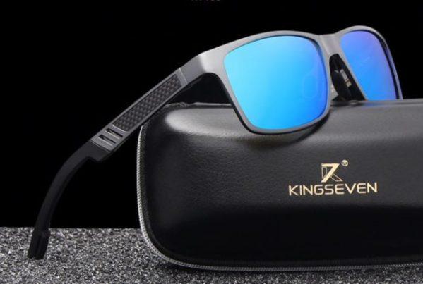 kingseven polaroid zonnebril titanium
