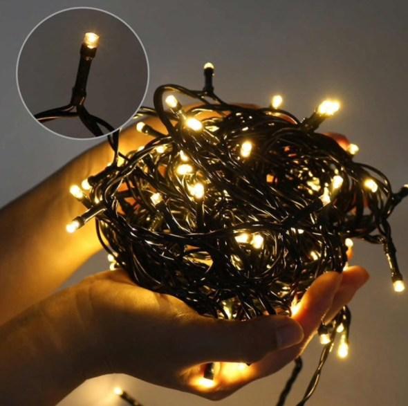 kerstverlichting LED 12V met stekker