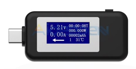 usb-c stroommeter